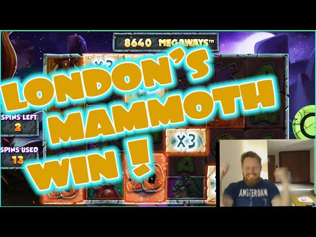 London MAMMOTH MONSTERWIN!!!