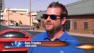 realtor sam trimble explains uber car service on ktsm news channel 9 el paso
