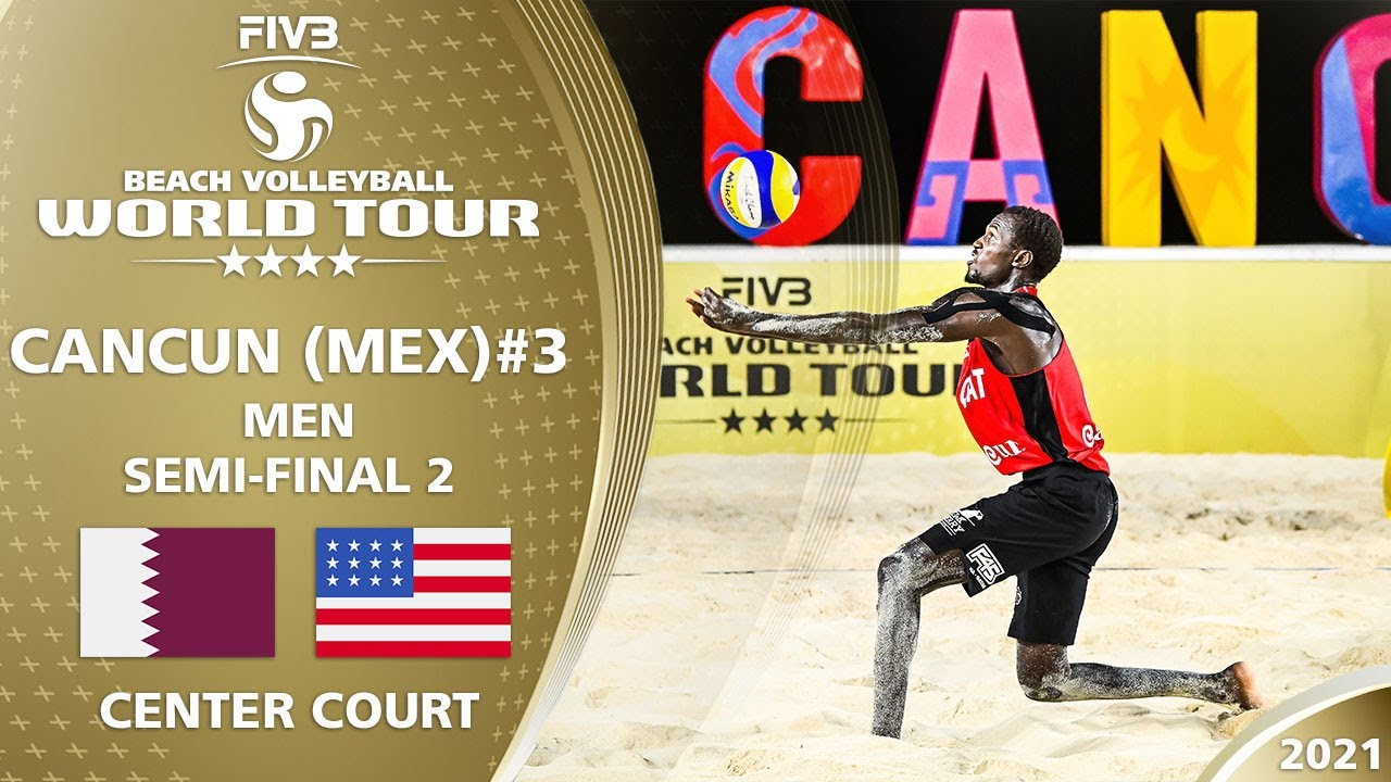 Download Cherif/Ahmed vs. Lucena/Dalhausser - Men's SF | Full Match | 4* Cancun 2021 #3