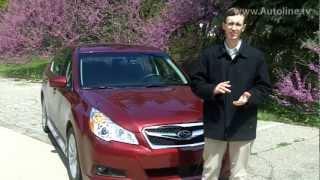 2012 Subaru Legacy - Test Drive