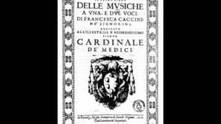 "Caccini Giulio - "" Pien d"