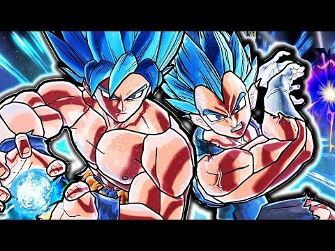 NEW BROLY MOVIE GOKU & VEGETA TEAM PACK! Xenoverse 2 Goku & Vegeta Battle Damage Vs Broly Gameplay