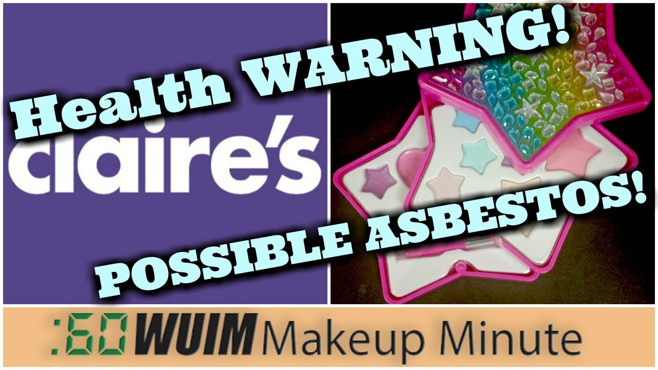 Consumer Advocate: Claire's pulls children's makeup after family finds asbestos