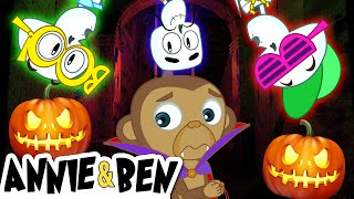 CHUMBALA CACHUMBALA | Halloween Songs for Kids | Nursery Rhymes by Annie and Ben thumbnail