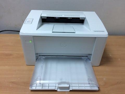 HP LaserJet Pro M102a Printer Unboxing