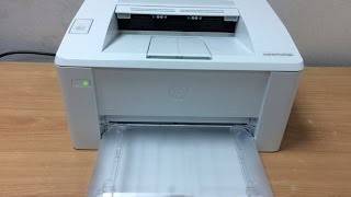 HP LaserJet Pro M102a Printer Unboxing