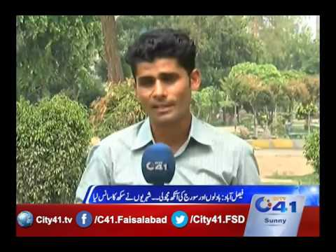 41 Report: Pleasant weather in Faisalabad