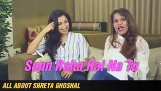 Shreya Ghoshal singing 'Sun Raha Hai Na Tu' in 4 different moods