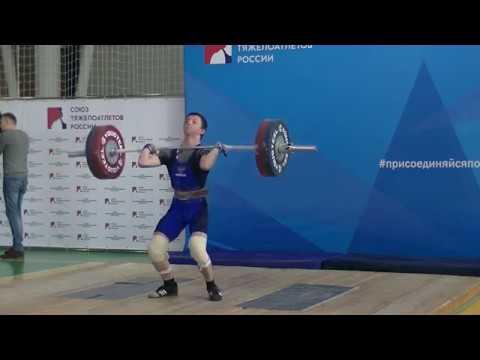 Мовсесян Михаил, вк 61 Толчок 115 кг