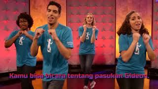 Gerakan & Lagu Sekolah Minggu Superbook Joshua Fought the Battle Superbook Indonesia