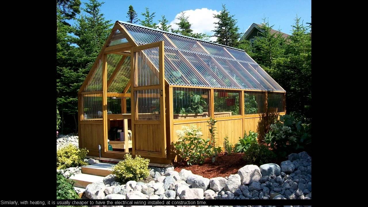 10 X 12 Greenhouse Plans