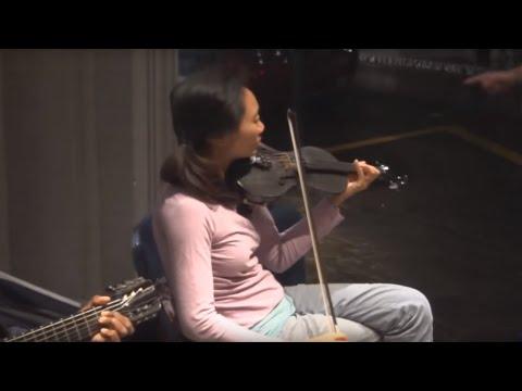 Игра на скрипке хороша до слез! Скрипка музыка