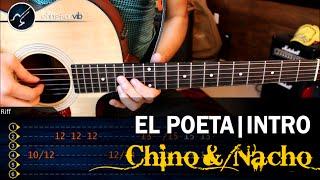 Como tocar El Poeta CHINO y NACHO | INTRO Guitarra Solo Tutorial