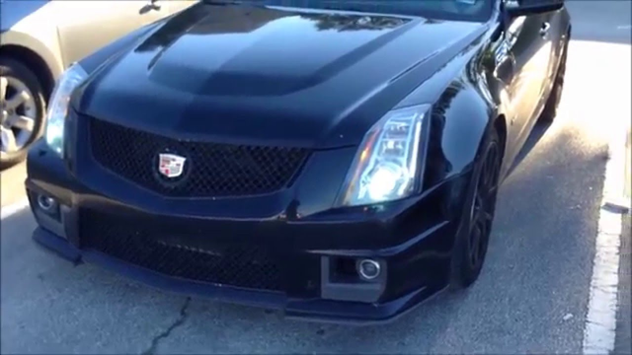 2010 cadillac cts v review youtube. Black Bedroom Furniture Sets. Home Design Ideas