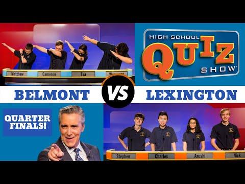 High School Quiz Show - Quarterfinal #:1 Belmont vs. Lexington (909)