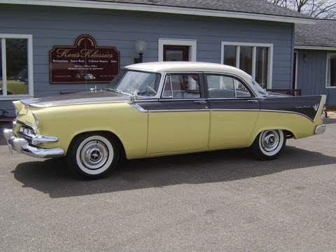 1956 dodge custom royal four door sedan restored by