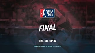 DIRECTO | FINAL Galicia Open | World Padel Tour 2015