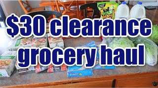 $30 Clearance Grocery Haul | March 2020 | Feeding a Large Family on a Budget during the Pandemic