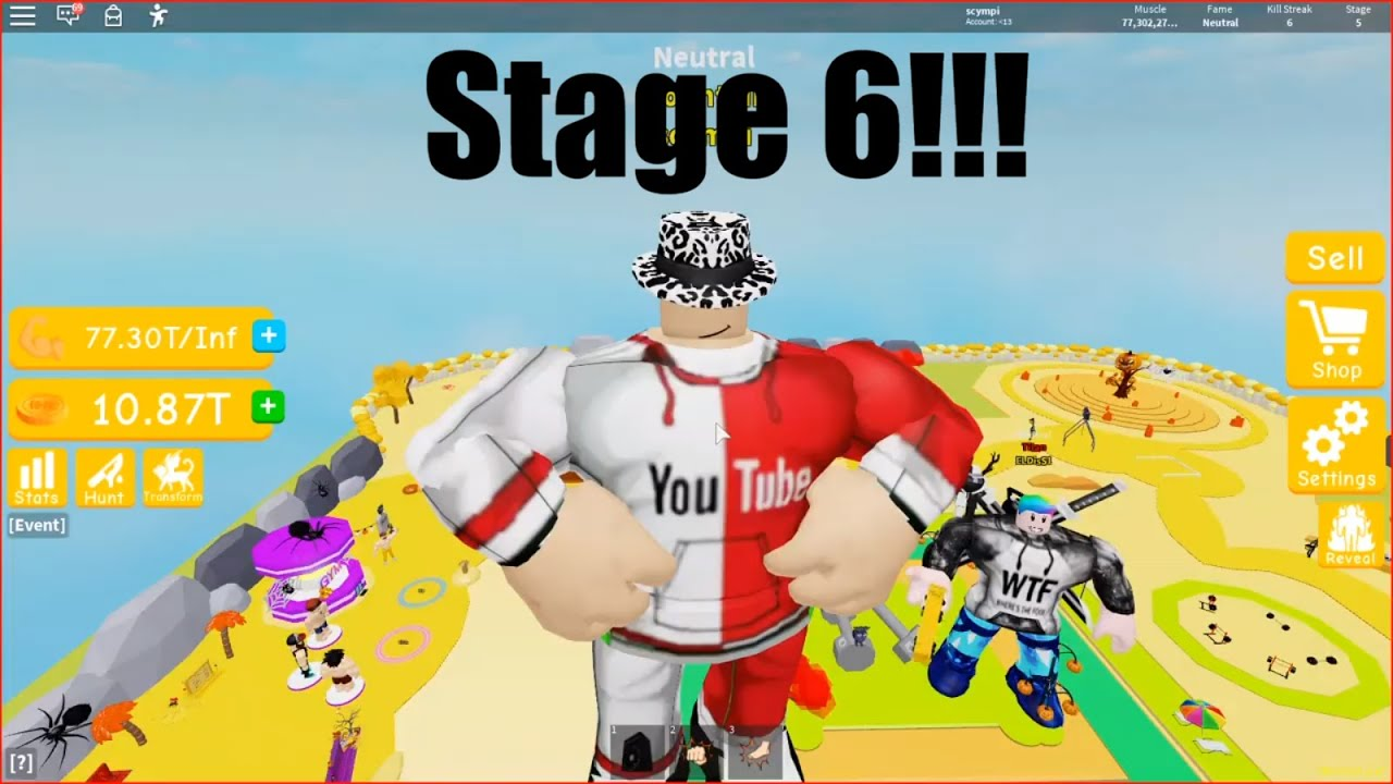 Videos Matching Roblox Quick Run Of Lifting Simulator Revolvy I Got To Stage 6 In Lifting Simulator Roblox Youtube
