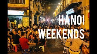 Weekend in Hanoi. Party place