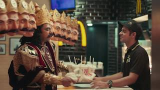 McDonald's India | McSaver combo - Ravana film