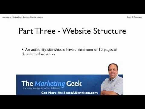 How To Market Your Business On The Internet - Lesson 3