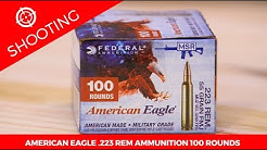 American Eagle .223 Rem Ammunition 100-rounds