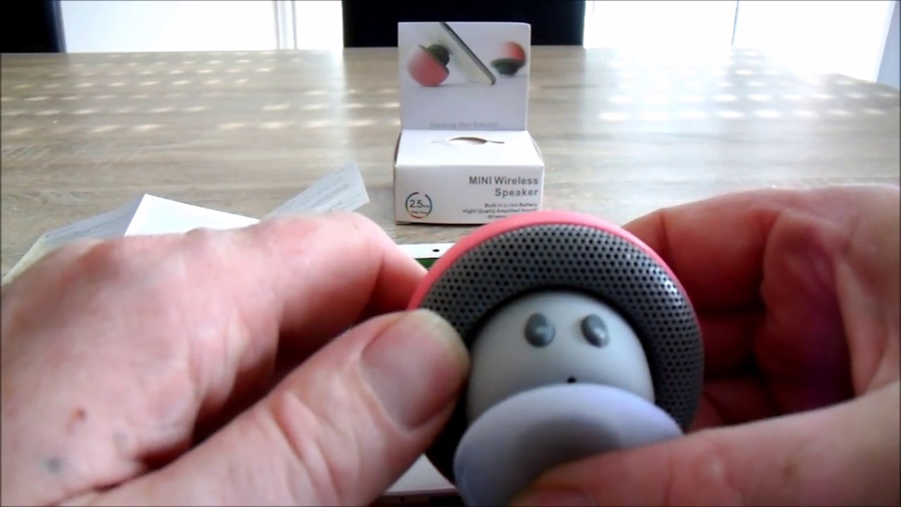 Revue Enceinte Bluetooth Champignon