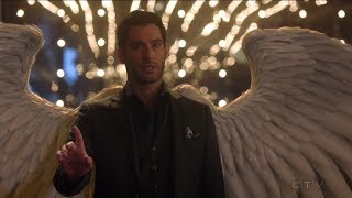 Lucifer reveals his wings to Charlotte - Lucifer S03E19 thumbnail