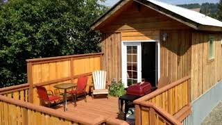 Amazing! Tiny House With 300 Square Feet In Homer, Alaska Is Open To Visitors