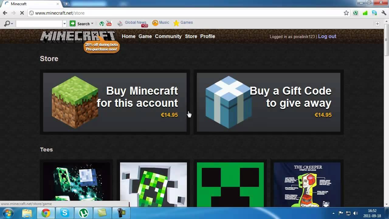 9b7edcd92 Poradnik: Jak kupić oryginalnego minecraft'a - YouTube