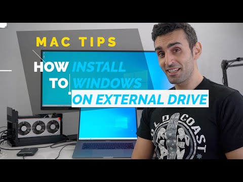 How To Install Windows 10 On USB External Drive | FREE Mac Guide