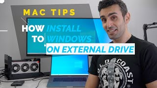 How to Install Windows 10 on USB External Drive | FREE Mac Guide 2019