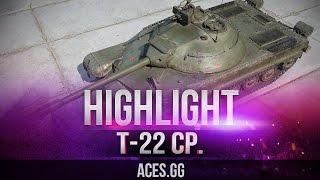 Видео по танку Т-22 ср - не имба в World of Tanks