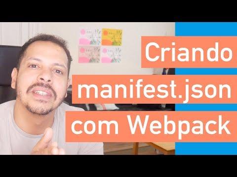 Curso PWA #19 - Criando manifest.json com Webpack