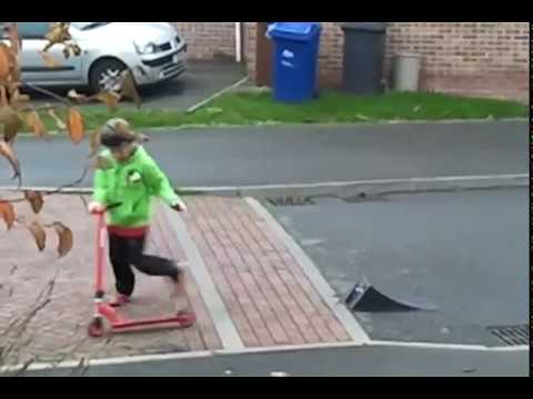 Best Scooter Tricks By A Kid