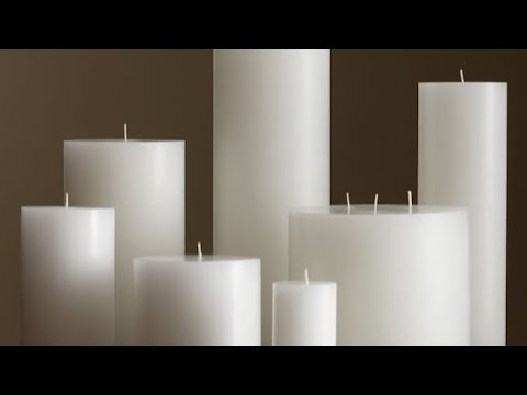 How to Make a Wax Pillar Candle - Basic Candle Making - DIY