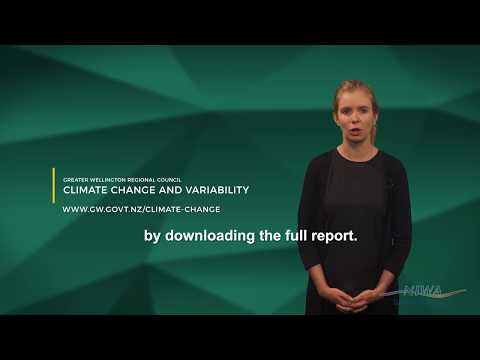 Climate Change and the Greater Wellington Region - a new report