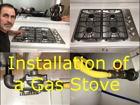 How To Install A Gas Stove And Remove An Electric James