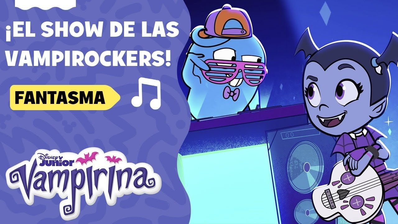 Fantasma | Vampirina: ¡El show de las Vampirockers!