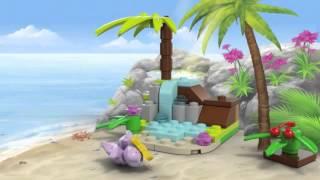 Lego Friends   41041   Turtles Little Paradise   Lego 3D Review