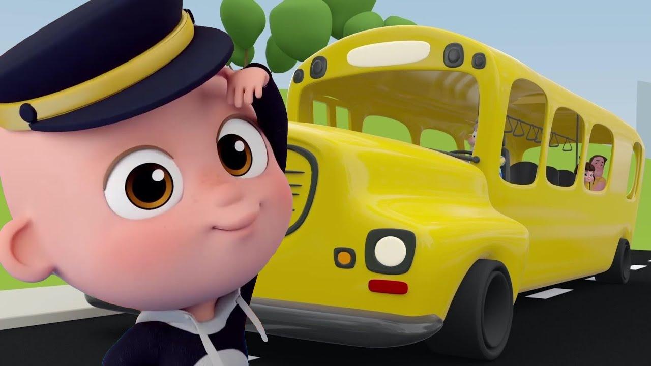 Otobüsün Tekerleği Dönüyor - Mini Anima Bebek Şarkıları