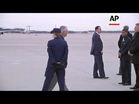 Tillerson Departs for G20 summit in Germany