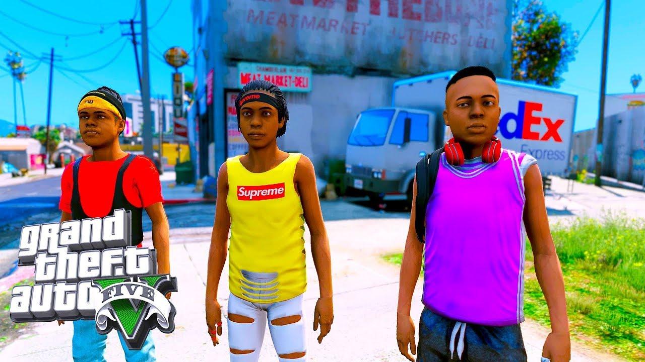 Download BAD KIDS ON THE BLOCK (GTA 5 SKIT)