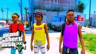 BAD KIDS ON THE BLOCK (GTA 5 SKIT)