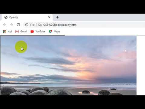 Tutorial CSS Dasar Untuk Pemula [Opacity] thumbnail