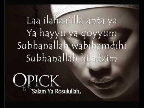 Opick   Astaghfirullah lyrics