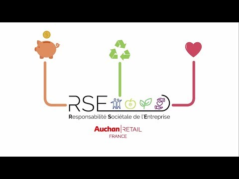 La RSE du commerçant Auchan Retail France