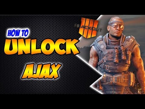 BLACKOUT - Unlock AJAX | How to Unlock Ajax Character in Call of Duty 4