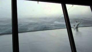 Cape Horn Storm - MS Veendam - Holland America - December 2010